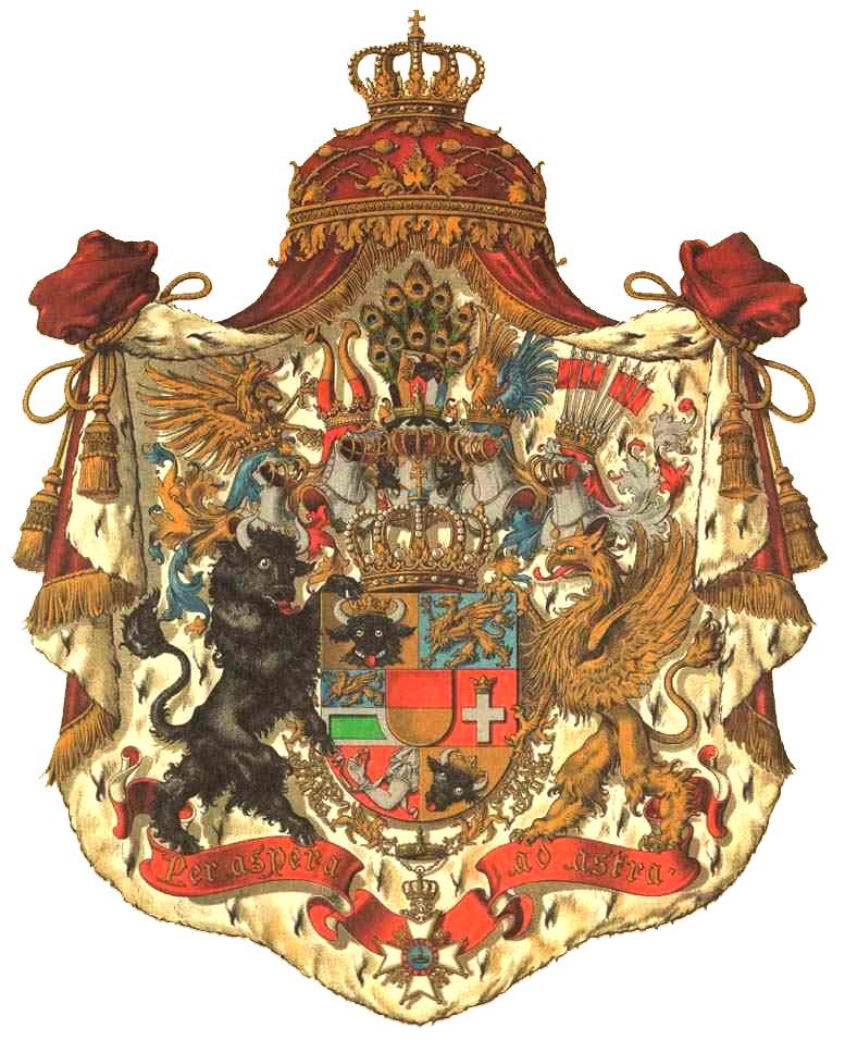 Wappen_Deutsches_Reich_-_Grossherzogtum_Mecklenburg-Schwerin