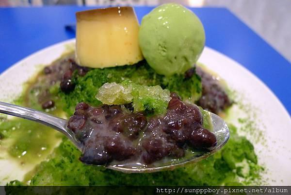 抺茶紅豆刨冰 NT 130 (1).JPG