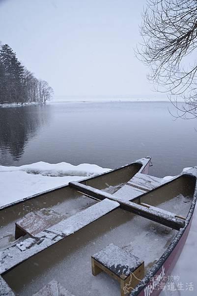 【北海道道冬屈斜路湖】冬天也能划獨木舟?帶你進入純白森林秘境。 @ 台灣女孩的北海道生活 :: 痞客邦