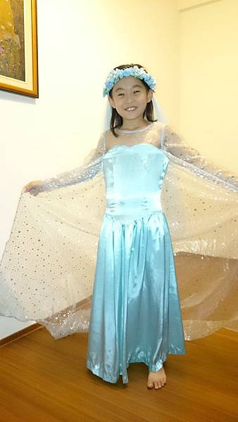 真人版的Elsa