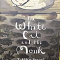 The white cat and the monk.jpg