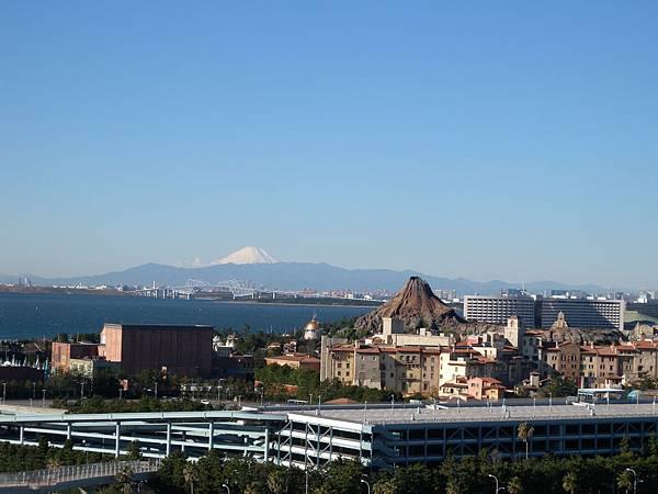 小火山與富士山