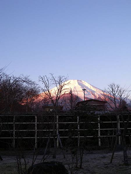 富士山日初