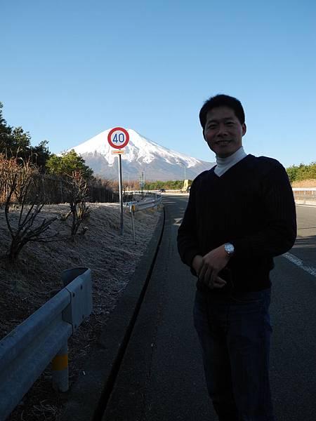富士山前大帥哥