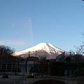 富士山雪景