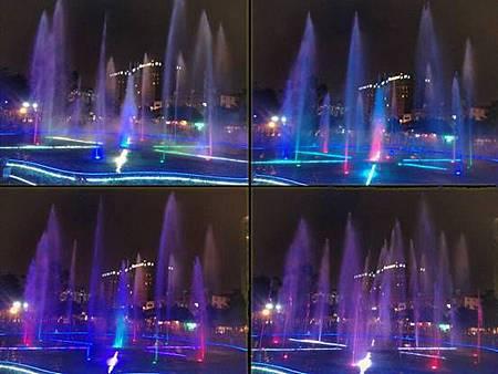 中壢光明公園水舞噴泉