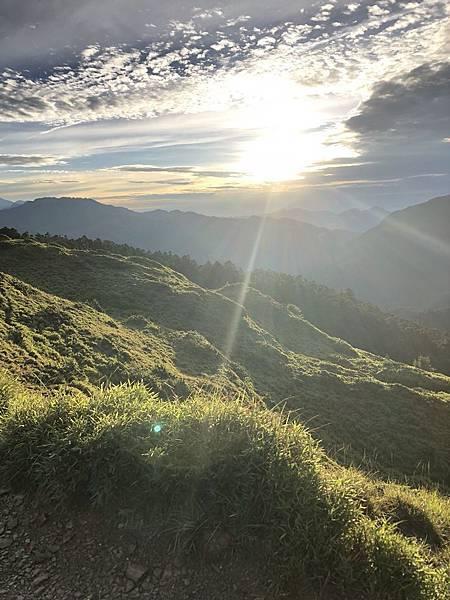 合歡山的陽光