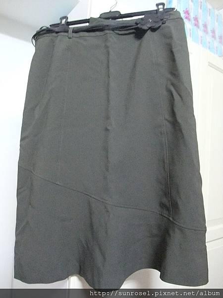 NET墨綠裙~10號