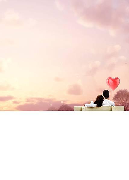 我可以不在你身邊,但請留我在你心裡底圖