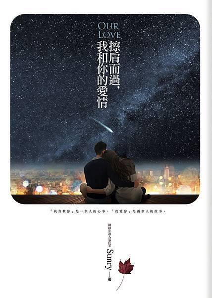 《擦肩而過,我和你的愛情》封面