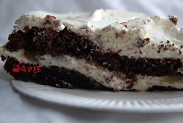 糊掉的香蕉巧克力蛋糕.jpg