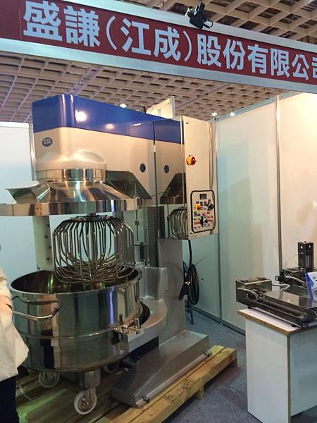 參加2014台北國際烘焙暨設備展