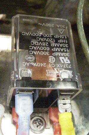 手工蛋捲機電磁繼電器(舊式)