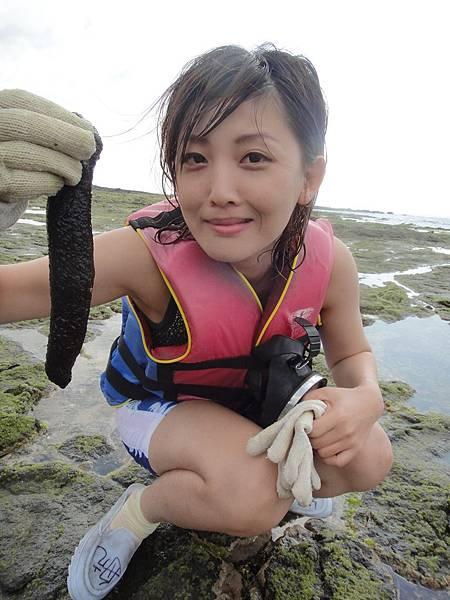 很噁心的海蔘,軟趴趴的!比想像的還要嚇人