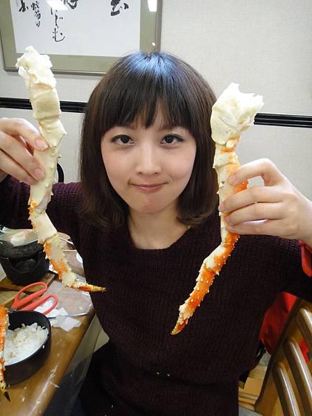 三大螃蟹吃到飽,好滿足哦!