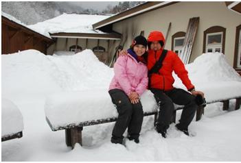 雪真的很可怕的大