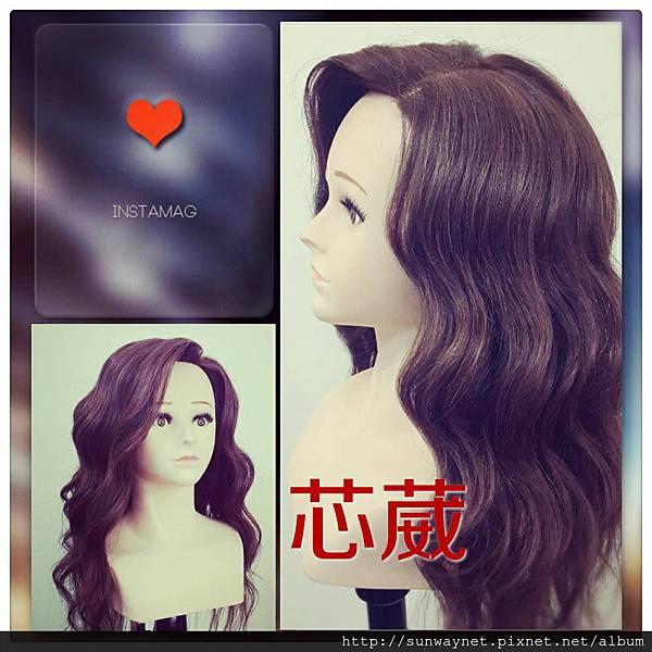 韓式水波紋髮型