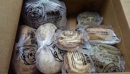 熊天然日式手作饅頭