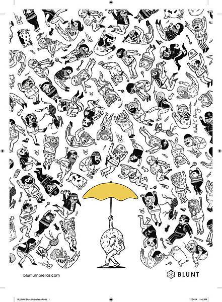 BLU0002 Blunt Umbrellas A4