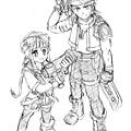 緹妲&阿嘉特3(鉛筆稿).jpg