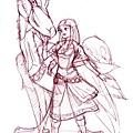 Zelda天空劍仿畫2.jpg