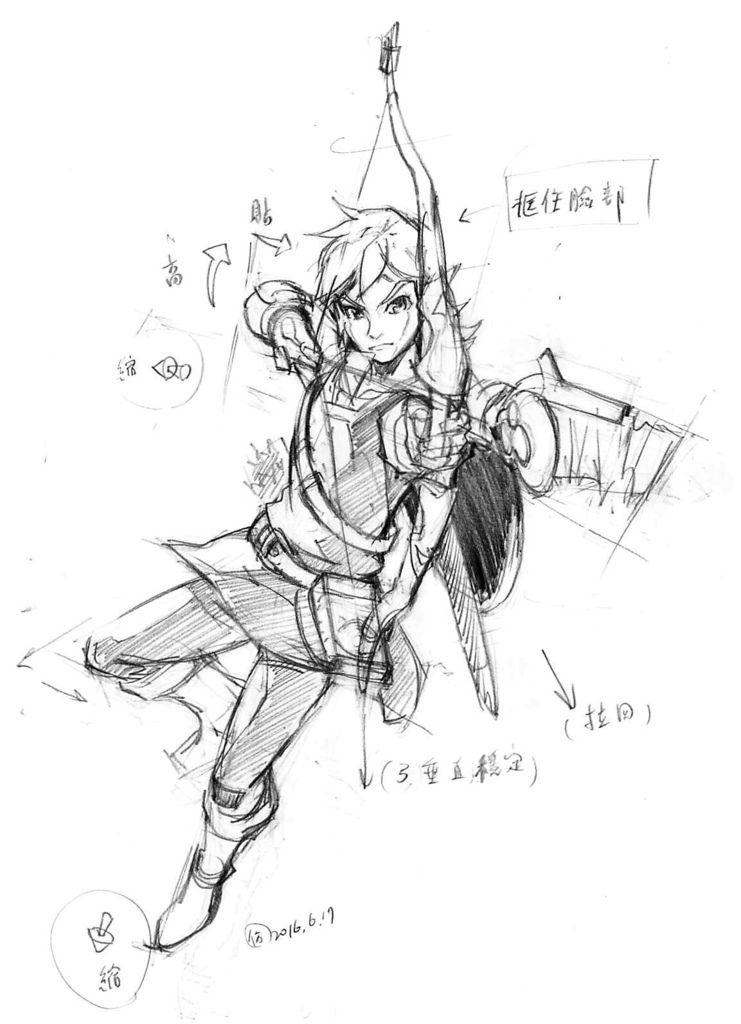 20160618_Zelda曠野之息仿畫1.jpg