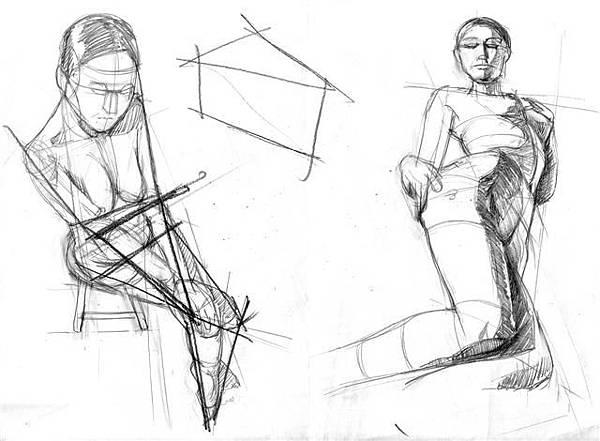 20101114_幾何透視與人體關係練習2.jpg