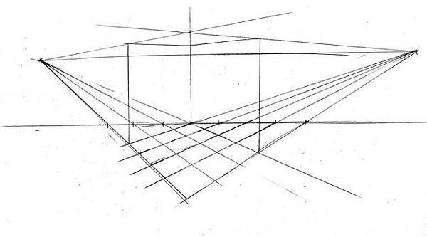 20110518_室內一點兩點透視解讀練習2.jpg