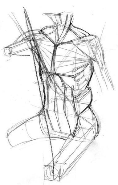 20100808_凱旋門與人體結構練習1.jpg