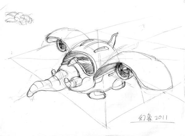 20110119_幾何飛機透視練習2.jpg