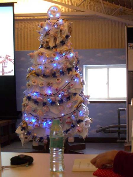 毛巾聖誕樹.JPG