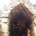 景區內的寺廟現在還是在祭拜他們的神