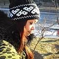 天寒地凍,陽光卻大方的灑在身上