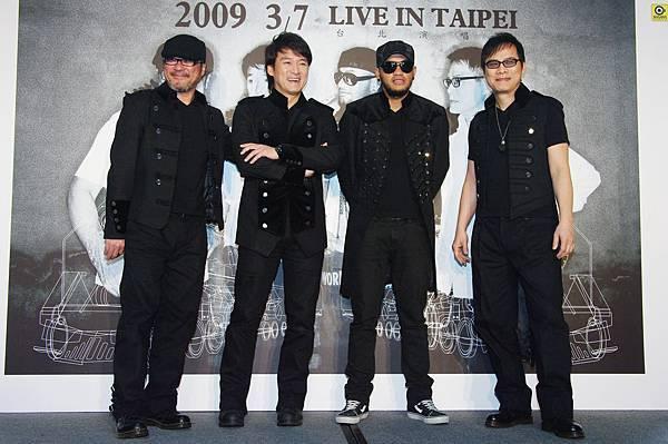縱貫線SUPERBAND台北演唱會開跑!