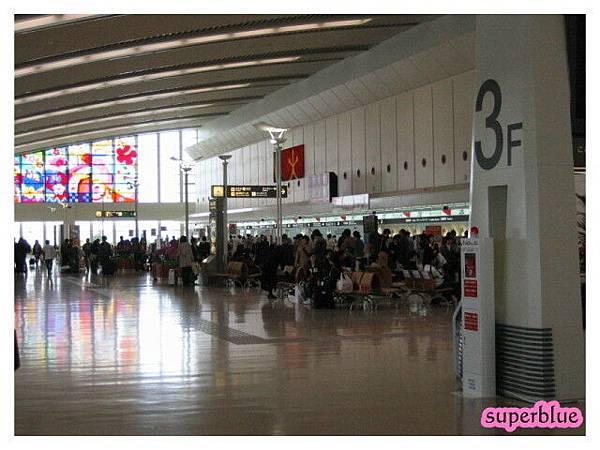 這是豪華的那霸國內線機場