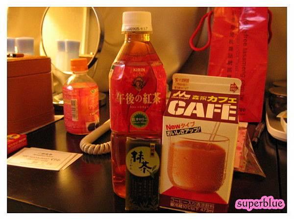 魯愛的午後紅茶和咖啡牛奶
