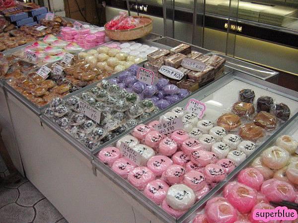 牧志公有市場裡的和菓子