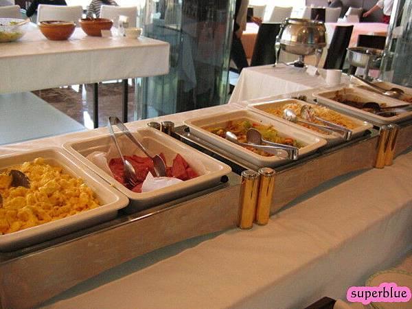 看一下早餐的buffet