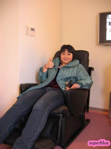 熱愛這張按摩椅的魯