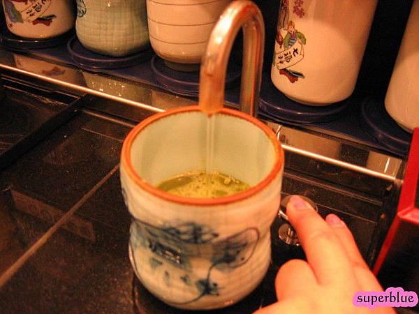 自己泡抹茶