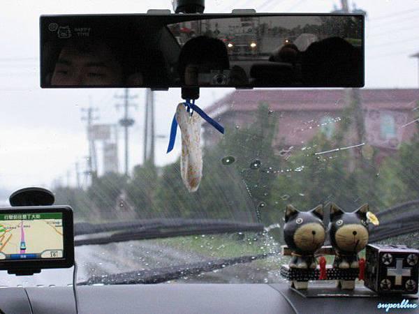 是颱風來著嗎這種雨