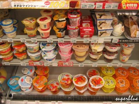 甜點區,日本的布丁都無敵好吃的啦!