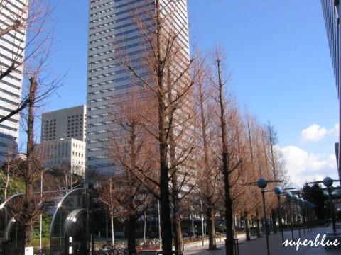 大阪商業公園站外