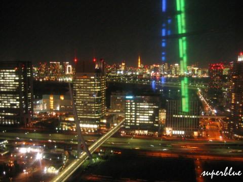 遠處有東京鐵塔