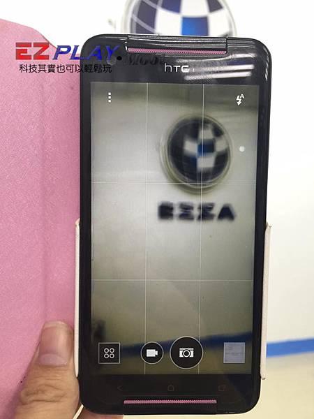HTC 蝴蝶s (901e)照相無法對焦、有抖動聲