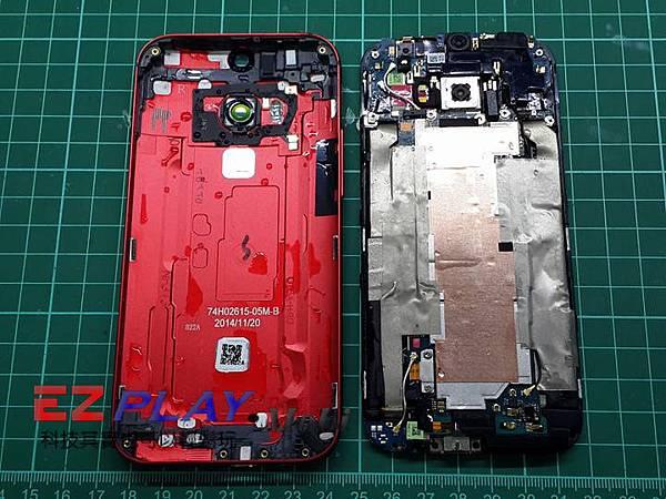 HTC M8 手機泡水把水吹乾就會好