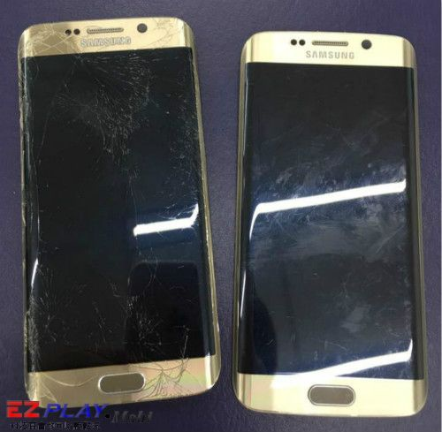 Samsung Galaxy S6 Edge螢幕破裂維修