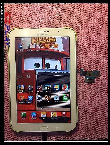 SAMSUNG N5100無法充電