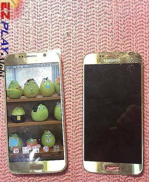 Samaung S6(G9208)面板摔破