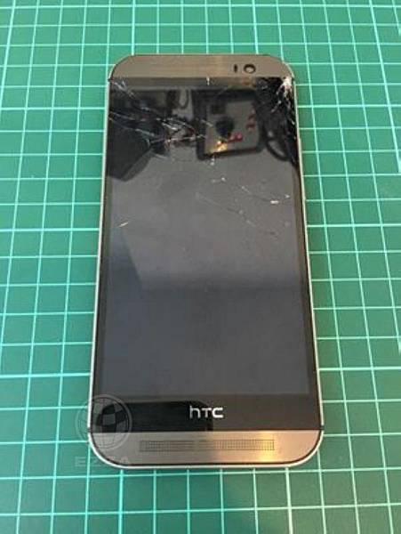 HTC M8 一不小心就摔破了